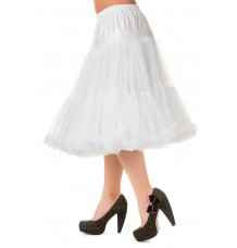"""Banned Apparel Lifeforms Petticoat White Long 26"""""""