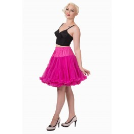 Banned Apparel Walkabout Petticoat Hot Pink Short 20""