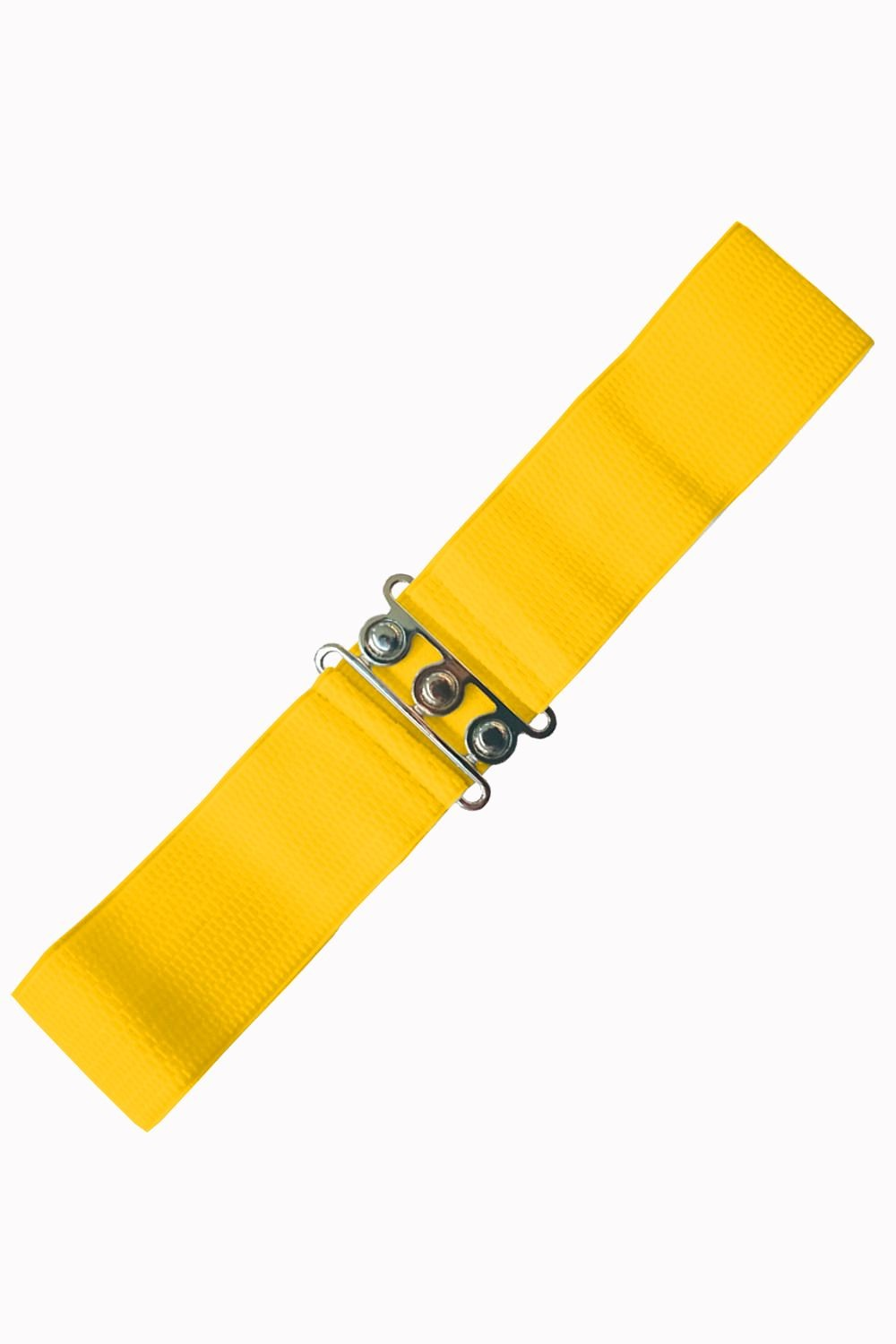 Banned Apparel Yellow Retro Belt