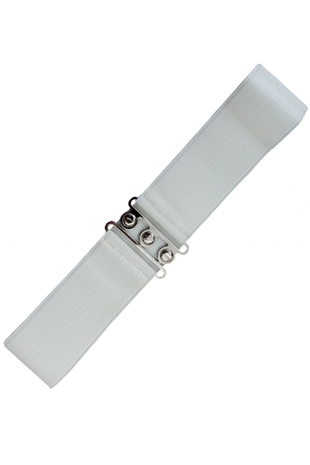 Banned Apparel White Retro Belt