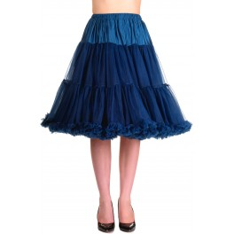 Banned Apparel Starlite Petticoat Navy Medium 23""