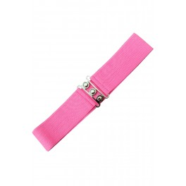 Banned Apparel Hot Pink Retro Belt
