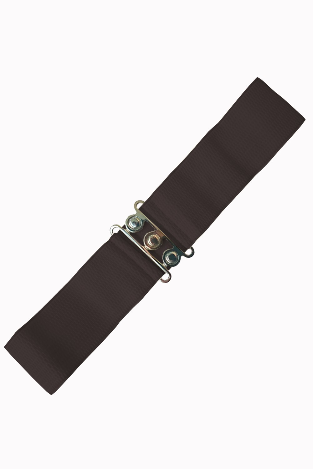 Banned Apparel Dark Chocolate Retro Belt