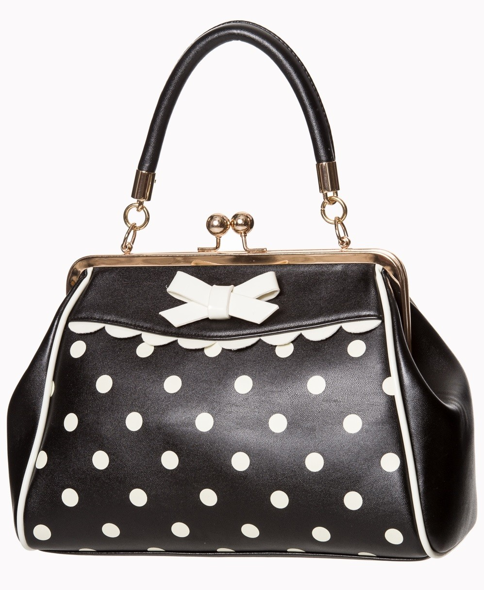 Banned Apparel Crazy Little Thing Bag - Cream