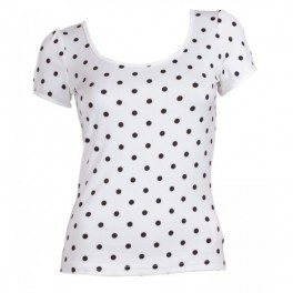 Dolly & Dotty retro top Gina White