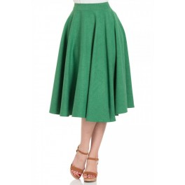 Voodoo Vixen Green Sandy Skirt
