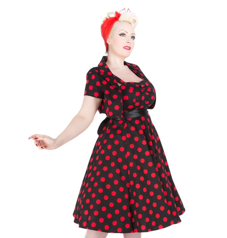 H&R London Lottie 50's Dress + Bolero