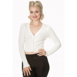 Banned Apparel Let's Go Dancing Cropped Cardigan