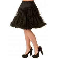 Banned Apparel Walkabout Petticoat Black Short 20""