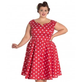 Hell Bunny Red Nicky 50's Dress
