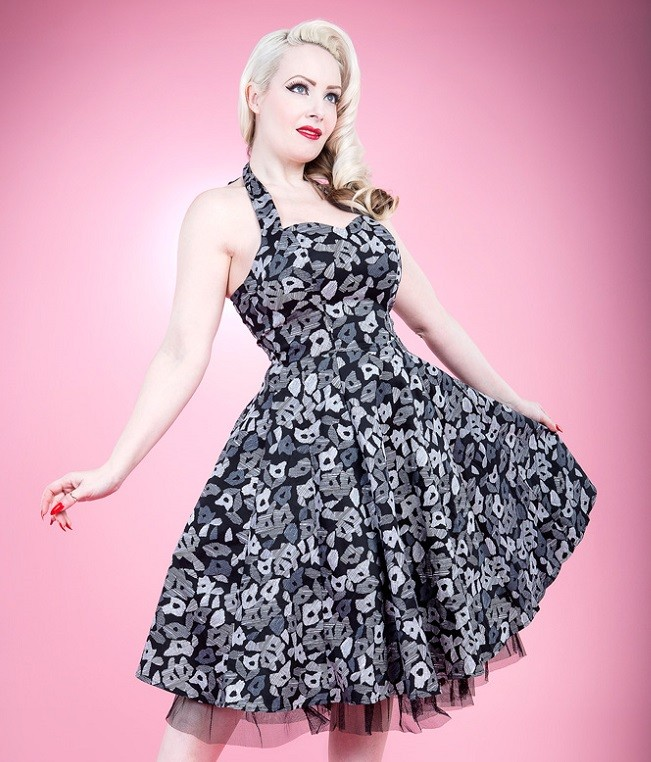 H&R London Larissa 50's Dress