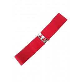 Banned Apparel Red Retro Belt
