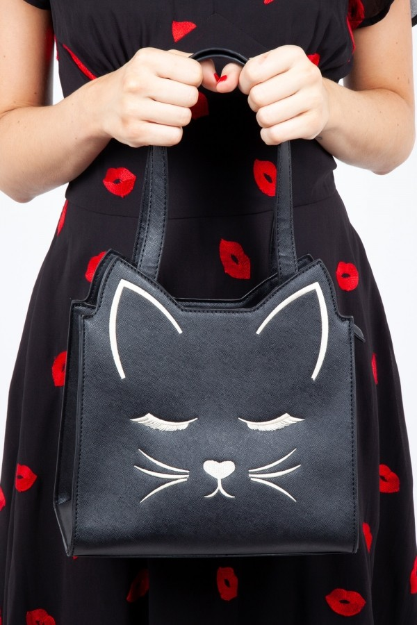 Voodoo Vixen Katy Cat Handbag