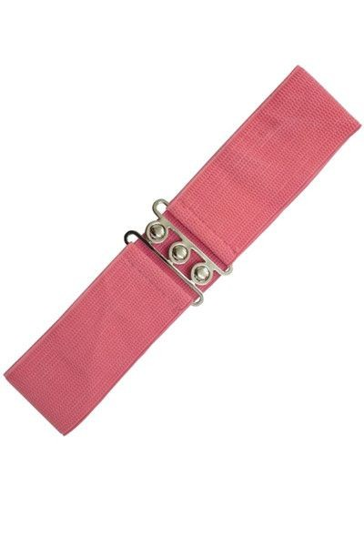 Banned Apparel Coral Retro Belt
