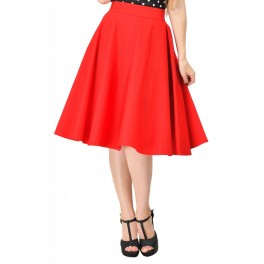 Dolly and Dotty Red Shirley Skirt