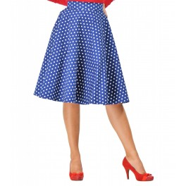 Dolly and Dotty Blue White Shirley Skirt