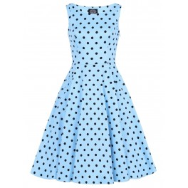 H&R London Playful Polka Dot Dress