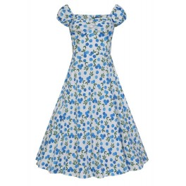 Collectif Blueberries Dolores Doll Dress