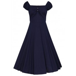 Collectif Navy Dolores Doll Dress
