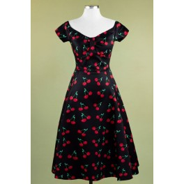 Lady V London Retro Cherry Josie Dress