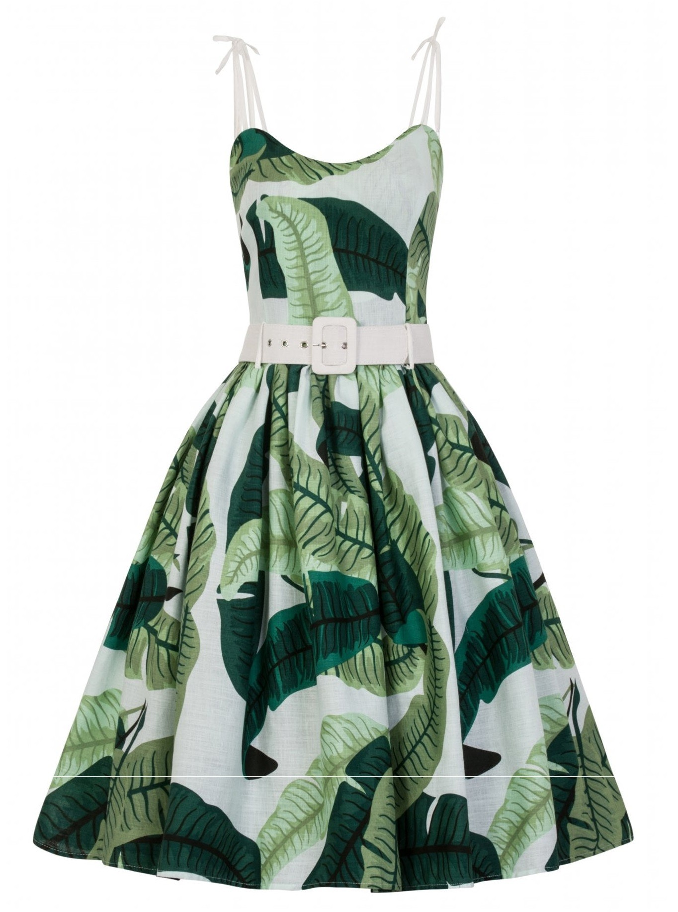 Collectif Jade Banana Leaf Dress