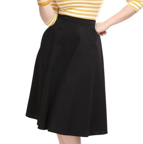 Collectif Cassie Swing Skirt