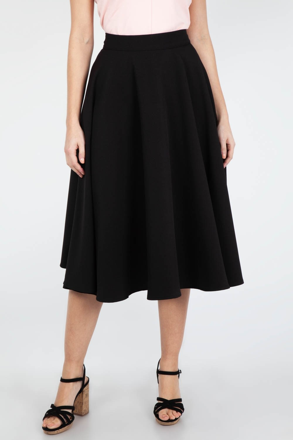 Voodoo Vixen Black Sandy Skirt