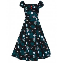 Collectif Space Pin Up Dolores Doll Dress