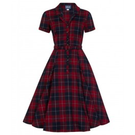 Collectif Caterina Ginsburg Check Dress