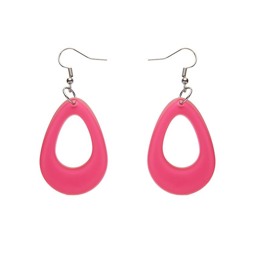Drop Essentials - Teardrops  - Bubble Resin - Pink