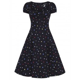Collectif Mimi Rainbow Star Doll Dress