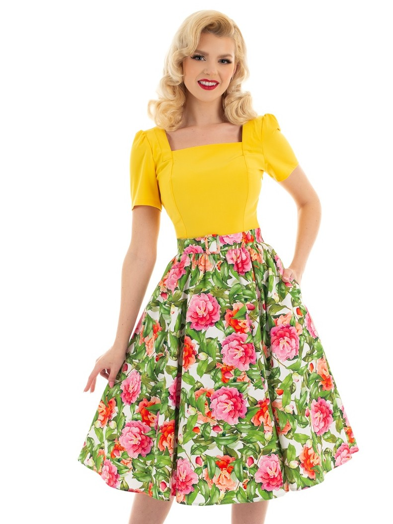 H&R London Francine Skirt