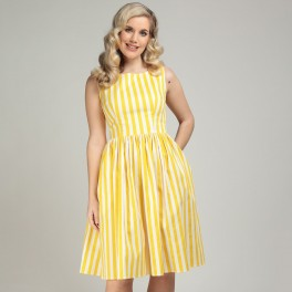 Collectif Candice Striped Dress