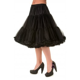 Banned Apparel Lifeforms Petticoat Black Long 26""