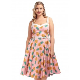 Collectif Nova Pineapple Dress