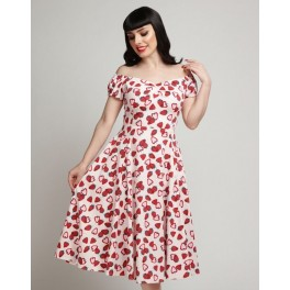 Collectif Strawberry Dolores Doll Dress