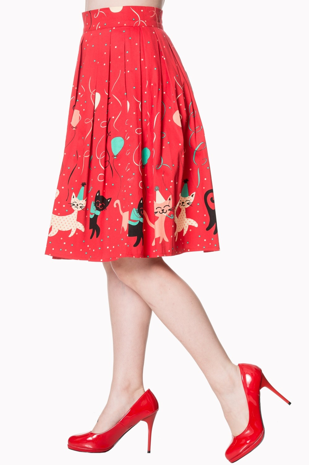 Banned Retro Freedom Swing Skirt