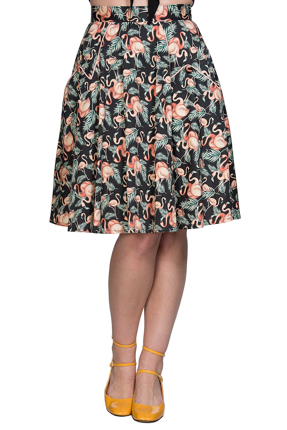 Banned Retro Flamingo Honnie Skirt