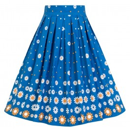 Banned Retro Daisy Chain Skirt