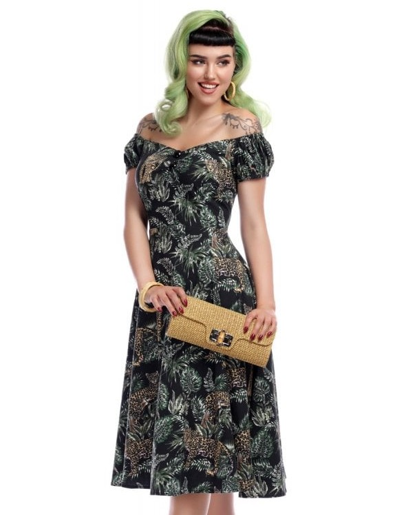 Collectif Jungle Dolores Doll Dress