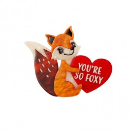 You're So Foxy Erstwilder Brooch