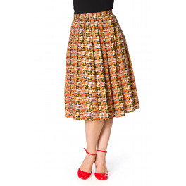 Banned Retro Purrfect Cat Skirt