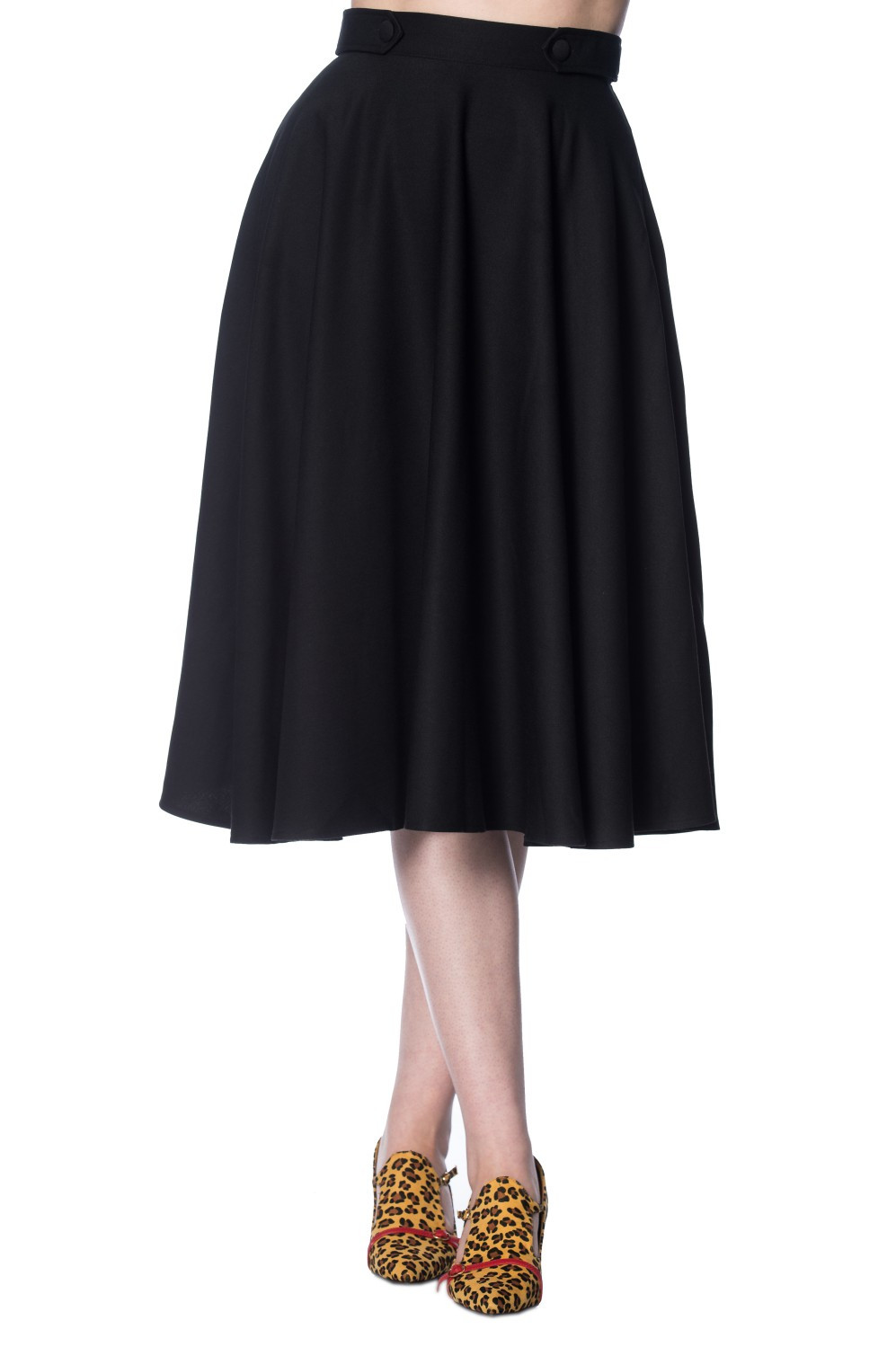 Banned Retro Black Di Di Skirt