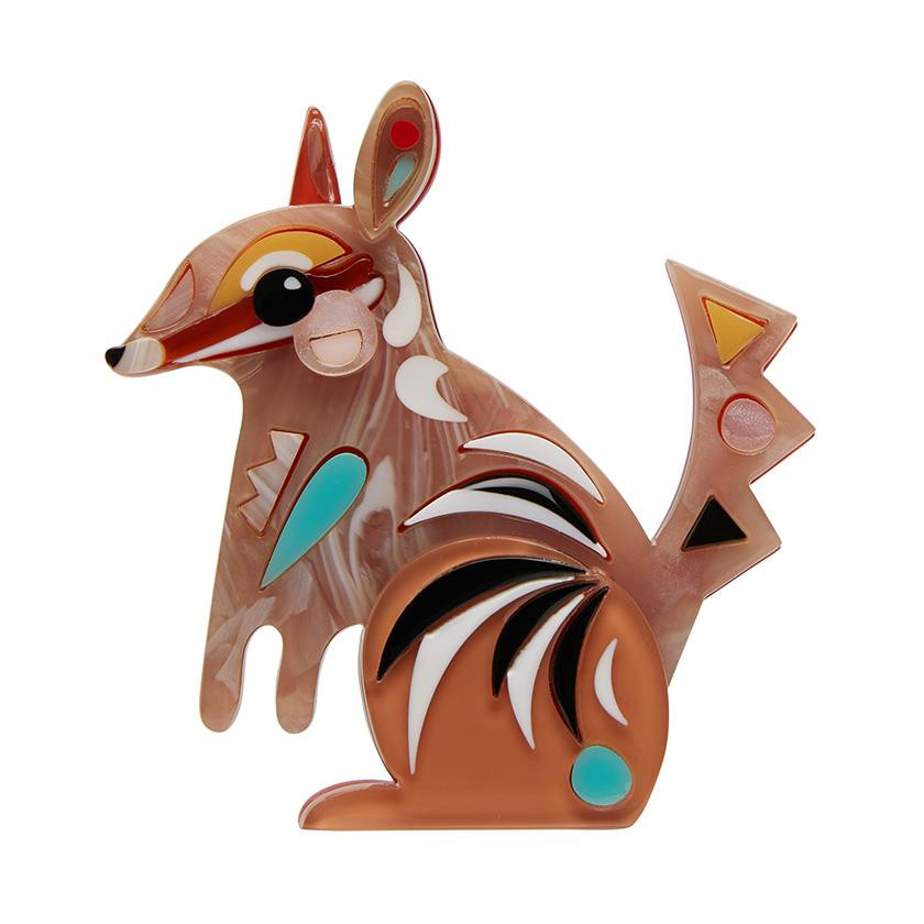 The Notorious Numbat Erstwilder Brooch