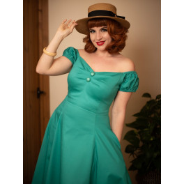 Collectif Teal Dolores Doll Dress