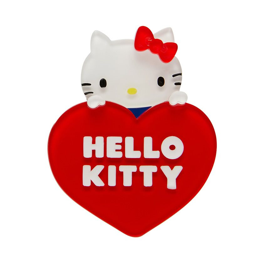 Hello Kitty Heart Erstwilder Brooch