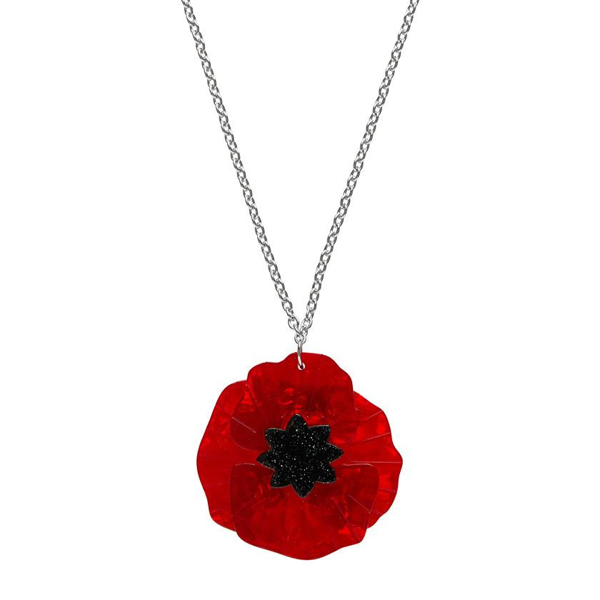 Poppy Field Erstwilder Pendant Necklace