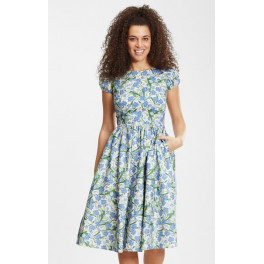 Collectif Demira Dreamy Floral Swing Dress
