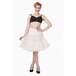 """Banned Apparel Walkabout Petticoat Ivory Short 20"""""""